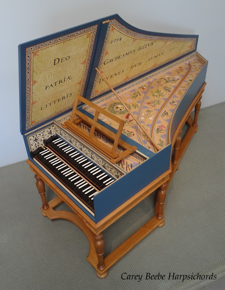 Ruckers Double Harpsichord for Scotch College, Melbourne 105K jpeg