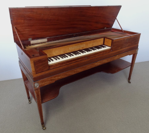 1796 John Broadwood and Son square pianoforte 61K jpeg