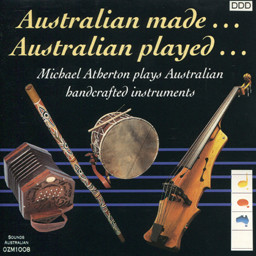 Australian made… Australian played… CD cover 30K jpeg