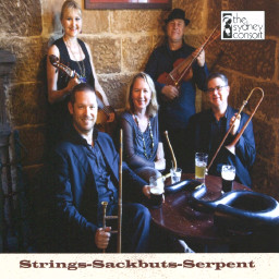 Strings–Sackbuts–Serpent CD cover 30K jpeg