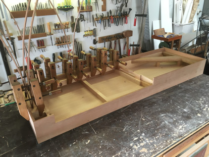 Gerlach clavichord case assembly 57K jpeg